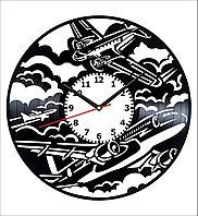 Настенные часы Самолет, подарок пилоту, любителям, 1881