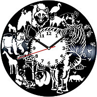 Настенные часы Звери, 1887