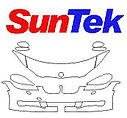 Toyota RAV4 2015-2016г.в. готовые лекала, полиуретановая пленка SunTek, фото 3