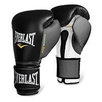 Боксерские перчатки EVERLAST кожа (цвет черный) 12,14,16OZ