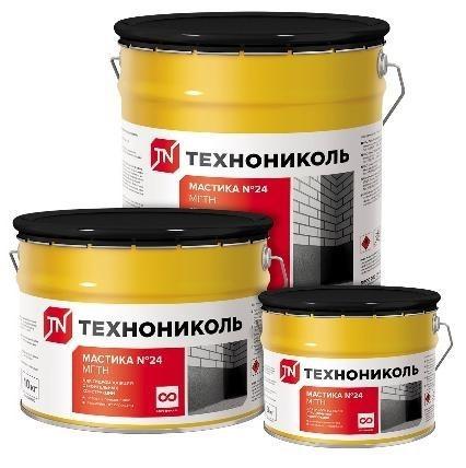 Мастика гидроизоляционная ТЕХНОНИКОЛЬ №24 (МГТН)