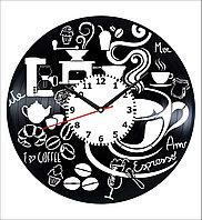 Настенные часы Кофе, кухня кофейня, 1930