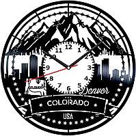 Настенные часы Colorado Денвер Колорадо, кухня кофейня, 1931