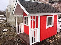 Игровой домик из дерева для детей