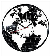 Настенные часы Глобус география, подарок географу, картографу, учителю географии, 1961