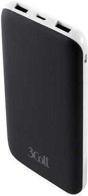 Внешний аккумулятор 3Cott 3C-PB-100TC 10000mAh черный