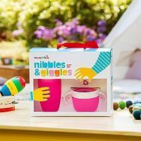 Подарочный набор Nibbles & Giggles Розовый (Munchkin, США)