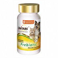 Витамины Unitabs Prebiotic для кошек и собак, 100 таб. (U310)