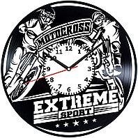 Настенные часы Motocross Мотокросс, подарок фанатам, любителям, 2005