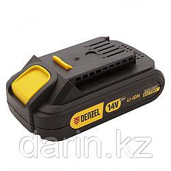 Батарея аккумуляторная IB-14-2.0, Li-Ion, 14 В, 2.0 А/ч Denzel