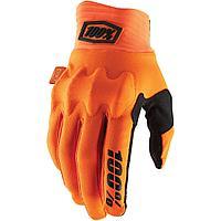 Перчатки 100% Мотоперчатки 100% Cognito D3O Glove Fluo Orange/Black