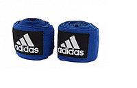 Боксерский бинт Adidas 2 штуки 3 метра (цвет синий)
