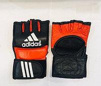 Перчатки шингарты для боевых искусств Adidas Размер M,L,XL (цвет красный, черный)