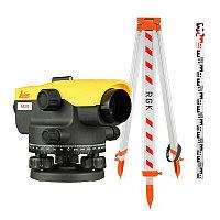 Комплект оптический нивелир Leica NA 320 штатив рейка - 3 в 1