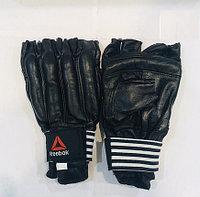 Перчатки шингарты для боевых искусств Reebok Размер M, L, XL (цвет черный)