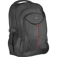Сумка-рюкзак для ноутбука Defender Carbon 15.6', полиэстер, черный, органайзер 26077