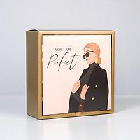 Коробка складная GIRL, 25 × 25 × 10 см
