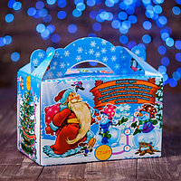 Коробка подарочная 'Новогодний лабиринт', с игрой, 20 x 12 x 19 см (комплект из 5 шт.)