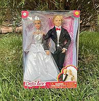 Набор Барби и Кен жених и невеста Defa Lucy