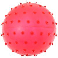 Мячик массажный, матовый пластизоль, d18 см, 43 г, МИКС