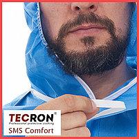 Одноразовые защитный комбинезоны TECRON™ SMS Comfort Blue (SMMS 55г., швы изолированы), фото 7