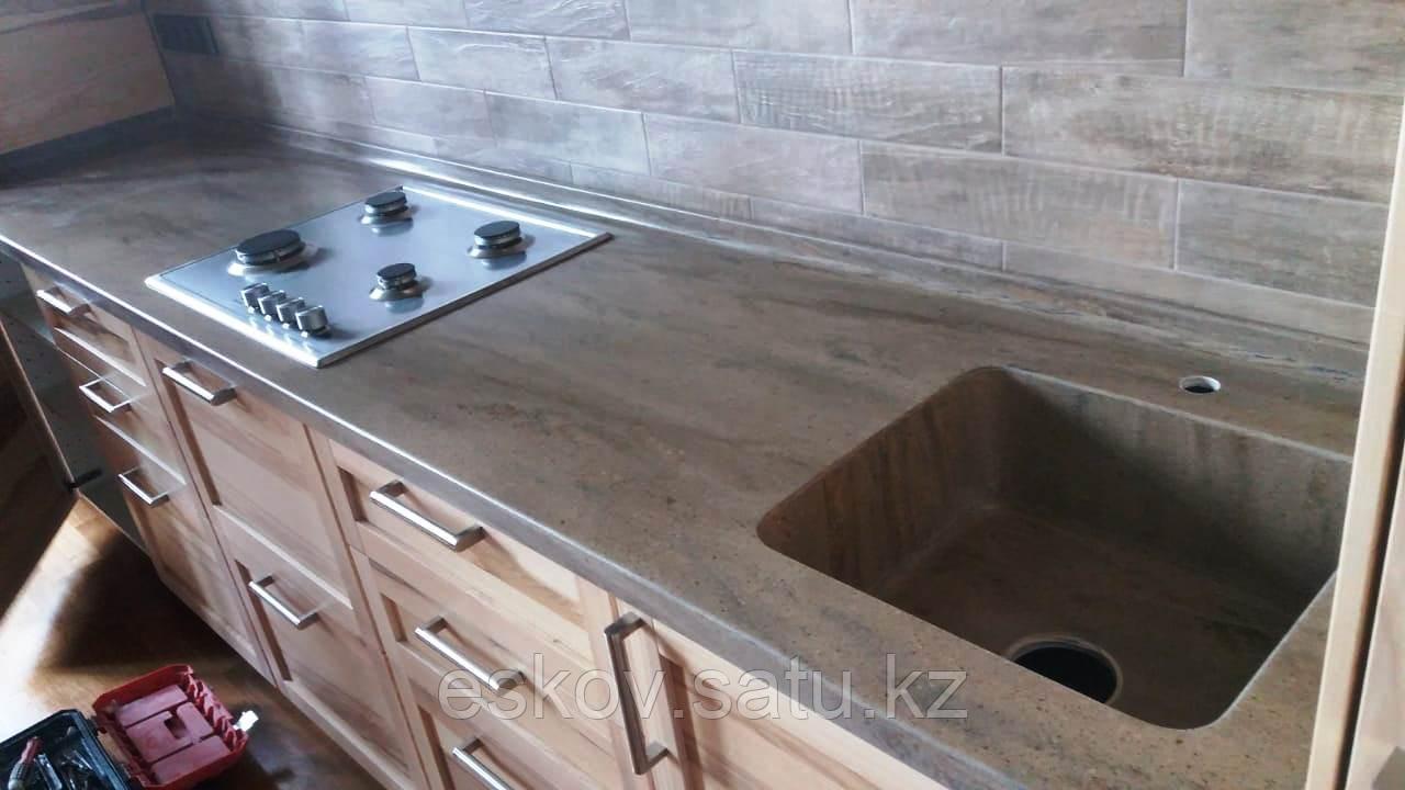 Столешницы на кухню и в ванную на заказ