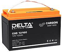 Тяговый аккумулятор Delta CGD 12100 (12В, 100Ач), фото 1