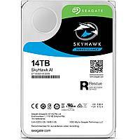 Жесткий диск HDD 14 Tb SATA 6Gb/s Seagate SkyHawk AI 7200rpm 256MB cache