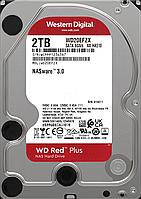 Жесткий диск HDD 2 Tb SATA 6Gb/s Western Digital Red 5400rpm 128MB