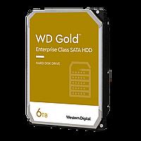 Жесткий диск HDD 6Tb SATA 6Gb/s Western Digital Gold 7200rpm, 128Mb