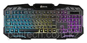 Клавиатура Oklick 700G Dynasty черный USB Multimedia for gamer LED