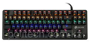 Клавиатура Oklick 969G SHOTGUN механическая черный USB Multimedia for gamer LED