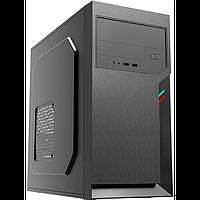 Компьютерный корпус Foxline FL-702, PSU 450W 8cm, w/2xUSB2.0, black, mATX