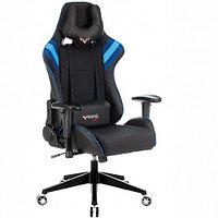 Кресло игровое Zombie VIKING 4 AERO черный искусст.кожа/ткань с подголов. крестовина пласт.