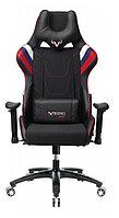 Кресло игровое Zombie VIKING 4 AERO черный/красный искусст.кожа/ткань с подголов. крестовина пласт.