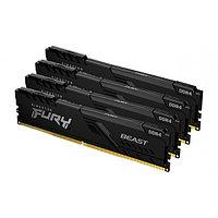 Модуль памяти Kingston Fury Beast KF432C16BB1K4/64 DDR4 DIMM 64Gb KIT (4x16) 3200 MHz CL16