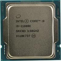 Процессор Intel Core i9-11900K Rocket Lake (3500MHz, LGA1200, L3 16Mb), oem