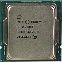 Процессор Intel Core i9-11900KF Rocket Lake (3500MHz, LGA1200, L3 16Mb), oem