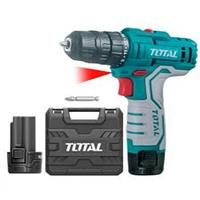 "TDLI12325 - ""ТОТАL"" Аккумуляторный шуруповёрт 12V, 1.5Ач."
