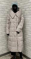 Куртка женская зимняя Evacana светло-серая