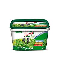 Минеральное удобрение для хвойных растений 4кг FLOROVIT