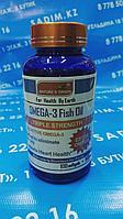 Капсулы - Omega-3 Fish Oil ( Омега-3 рыбий жир )