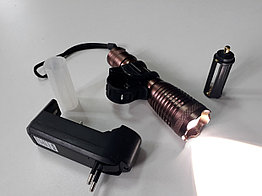 Яркий, мощный передний фонарь. Алюминиевый корпус. Рассрочка. Kaspi RED