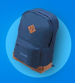 "Рюкзак для ноутбука 15.6"" VIVO, влагостойкий материал, 1 внешний карман, 2 внутренних кармана Арт.6870"