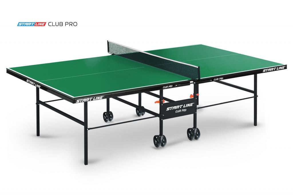 Теннисный стол Club Pro green