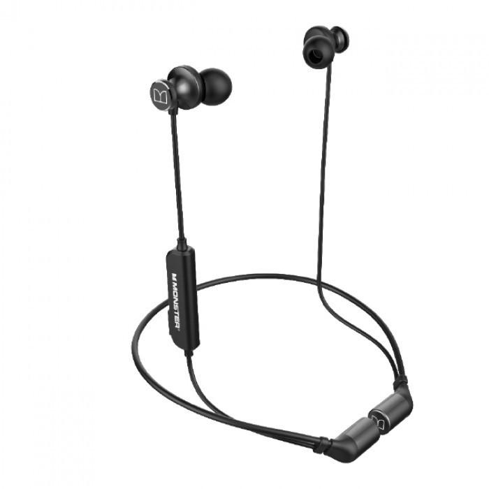 Bluetooth гарнитура Monster iSport Solitaire, черный