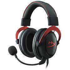 Гарнитура Kingston HyperX Cloud II Wireless, 15Hz-20kHz,60 Om,104dB, mic50Hz-6.8kHz,2.4GHz,Black-Red