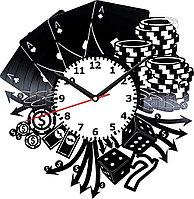 Настенные часы Poker Покер, подарок фанатам, любителям, 2026