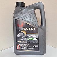 Синтетическое моторное масло RAIDO Extra 5W-30 -4л