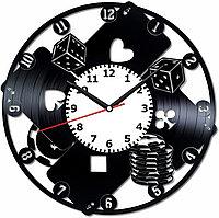Настенные часы Poker Покер, подарок фанатам, любителям, 2027